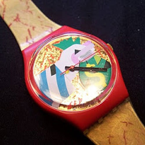 I Love 1980s answer: SWATCH