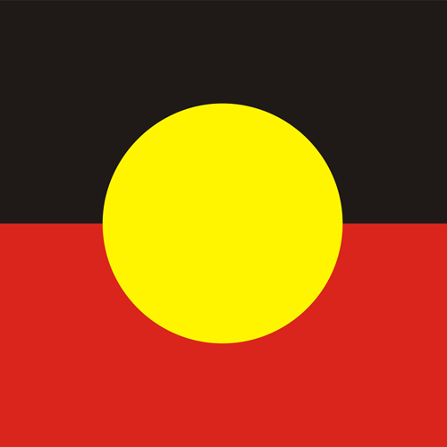 I ♥ Australia answer: ABORIGINAL FLAG