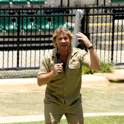 I ♥ Australia answer: STEVE IRWIN