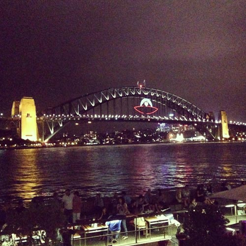 I ♥ Australia answer: HARBOUR BRIDGE