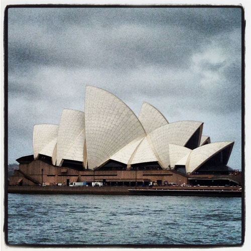 I ♥ Australia answer: THE OPERA HOUSE