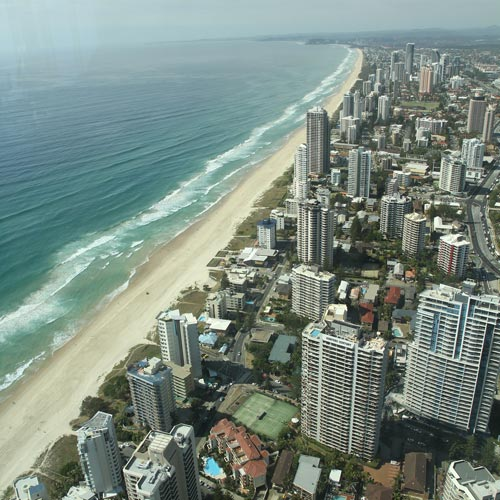 I ♥ Australia answer: GOLD COAST