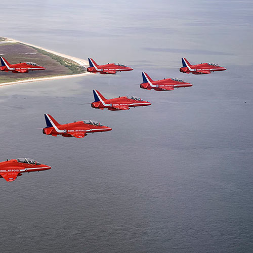 I Love UK answer: RED ARROWS