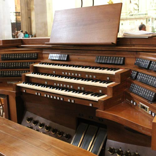 Instruments answer: ORGUE