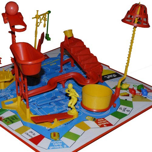 Jeux answer: MOUSE TRAP