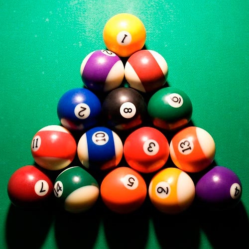 Jeux answer: BILLARD