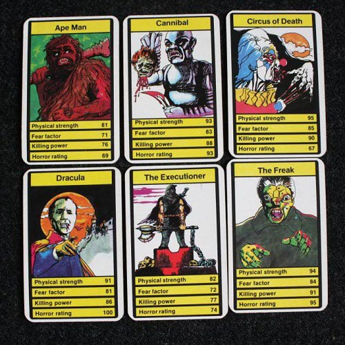 Jeux answer: TOP TRUMPS