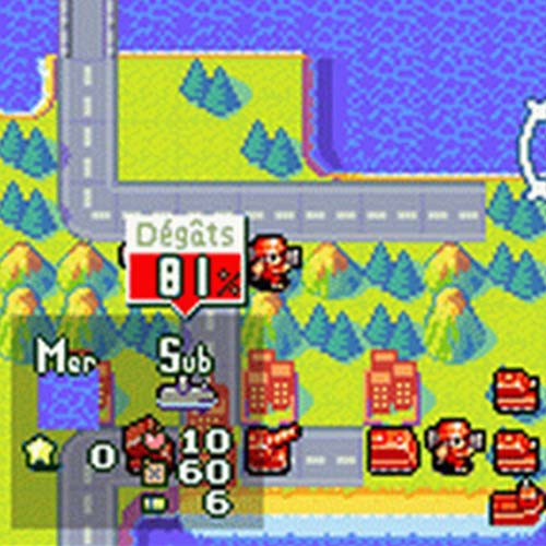 Jeux vidéo 2 answer: ADVANCE WARS