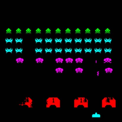 Jeux vidéo 2 answer: SPACE INVADERS