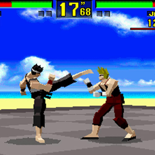 Jeux vidéo 2 answer: VIRTUA FIGHTER