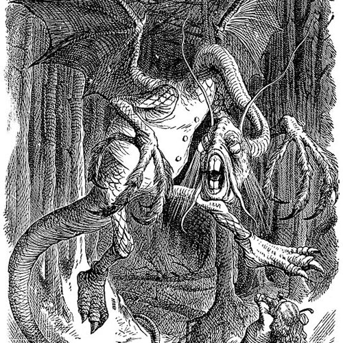 J is for... answer: JABBERWOCK