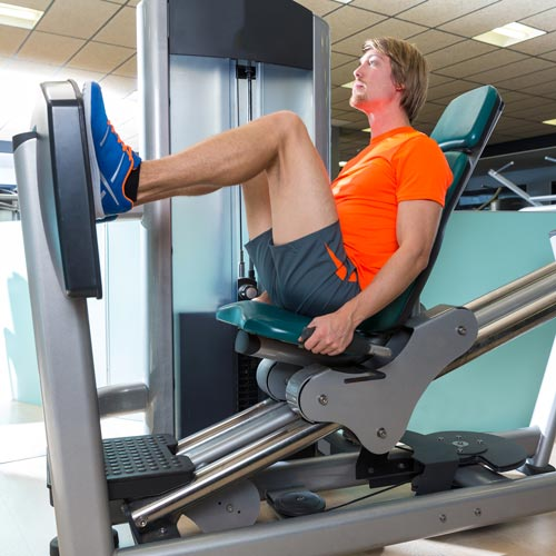 Keep Fit answer: LEG PRESS