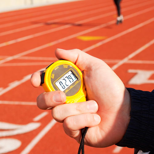 Keep Fit answer: STOPWATCH