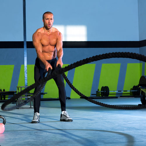 Keep Fit answer: BATTLE ROPES