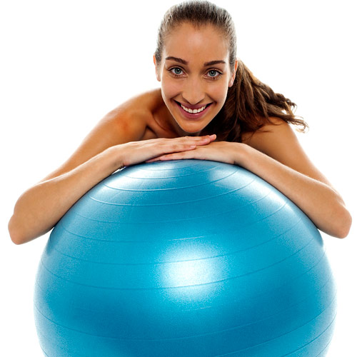 Keep Fit answer: SWISS BALL