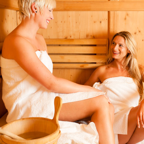 Keep Fit answer: SAUNA