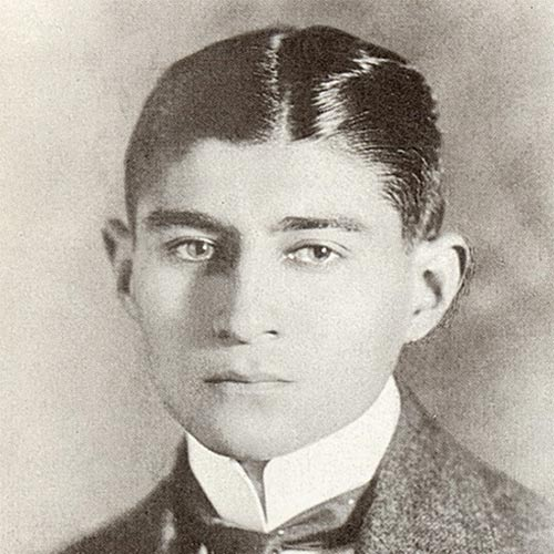 K is for... answer: KAFKA