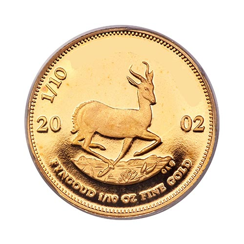 K is for... answer: KRUGERRAND