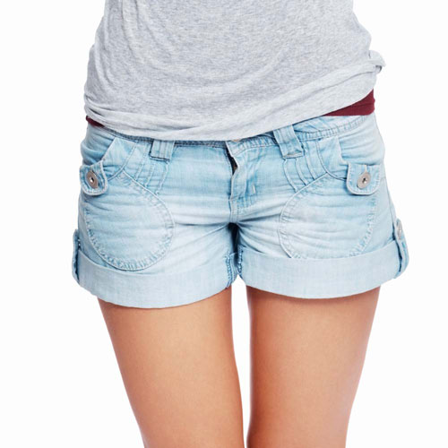 La mode answer: SHORT EN JEAN