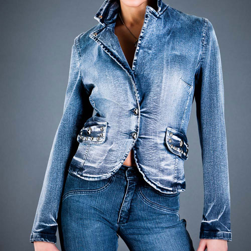 La mode answer: VESTE EN JEAN