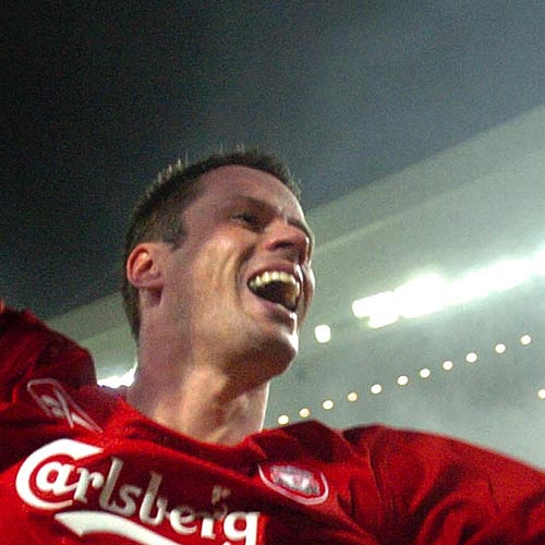 Légendes du LFC answer: JAMIE CARRAGHER