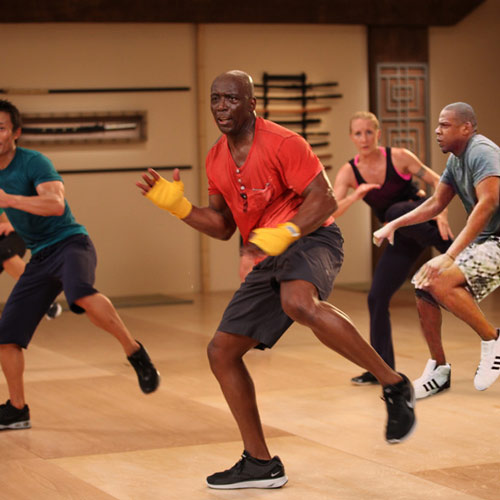Les années 90 answer: BILLY BLANKS