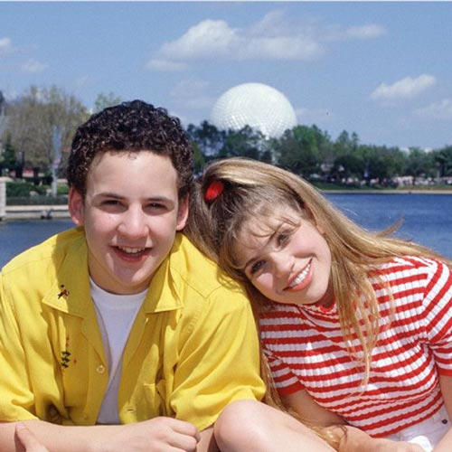 Les années 90 answer: CORY AND TOPANGA