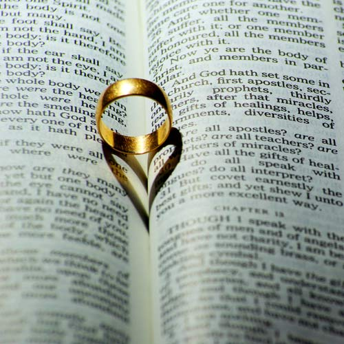 Mariages answer: BIBLE