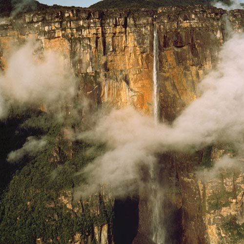 Monuments answer: SALTO ANGEL