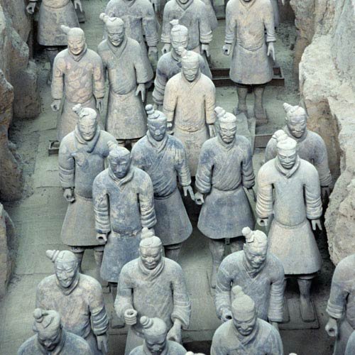 Monuments answer: TERRACOTTA ARMY
