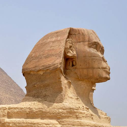 Monuments answer: SPHINX