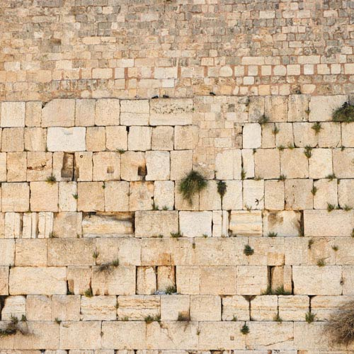 Monuments answer: WAILING WALL