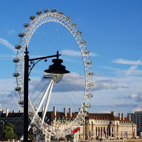 Monuments answer: LONDON EYE