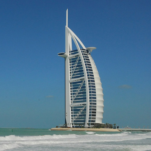 Monuments answer: BURJ AL ARAB