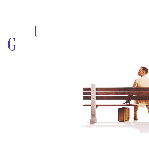 Movie Logos answer: FORREST GUMP