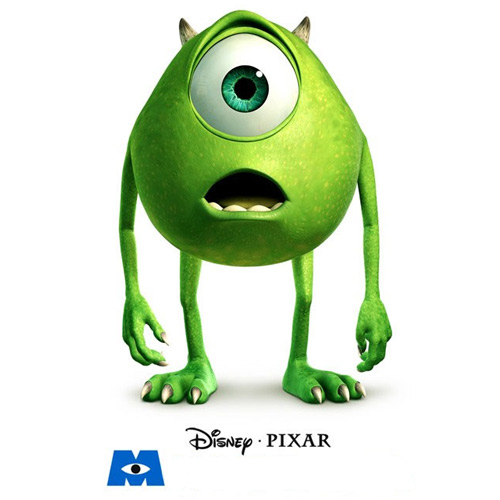 Movie Logos answer: MONSTERS INC