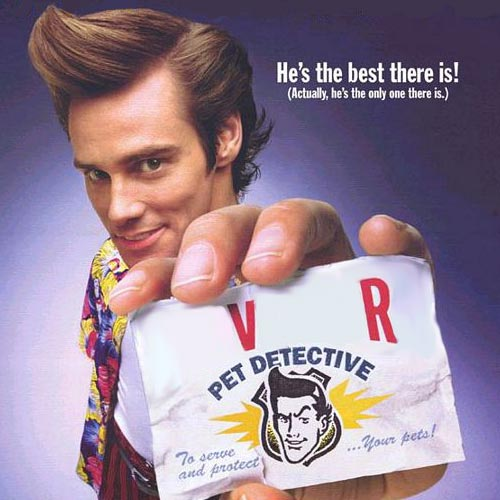 Movie Logos 2 answer: ACE VENTURA