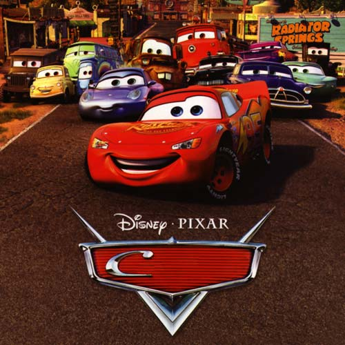 Movie Logos 2 answer: CARS