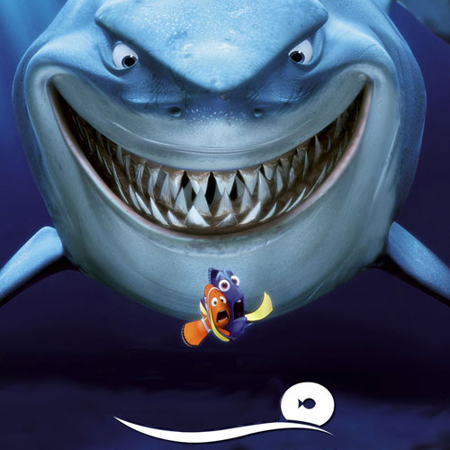 Movie Logos 2 answer: FINDING NEMO