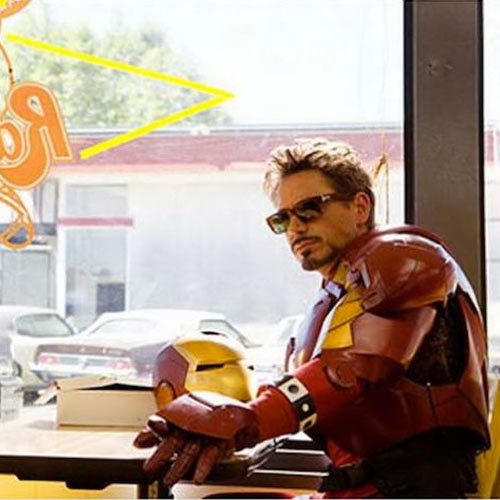 Movie Sets answer: IRON MAN 2