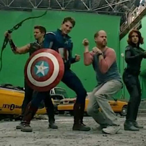 Movie Sets answer: THE AVENGERS