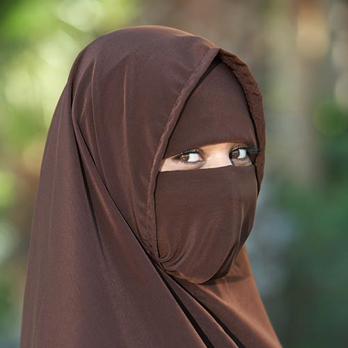 N is for... answer: NIQAB