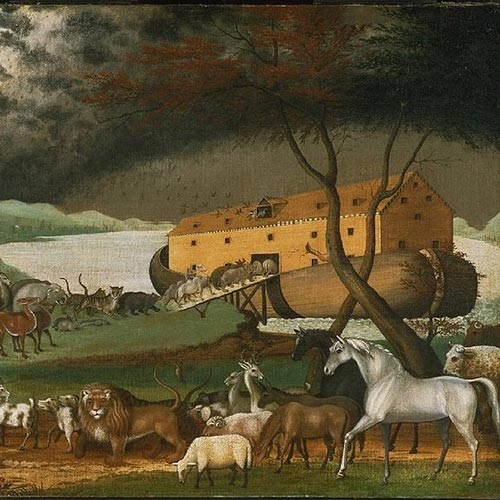 N is for... answer: NOAHS ARK