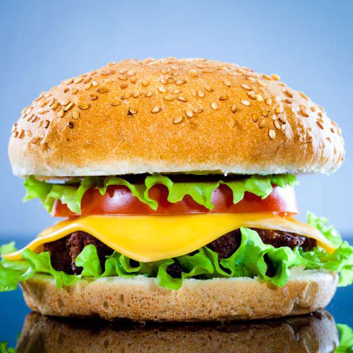 Nourriture answer: CHEESEBURGER
