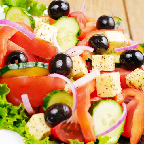 Nourriture answer: SALADE GRECQUE