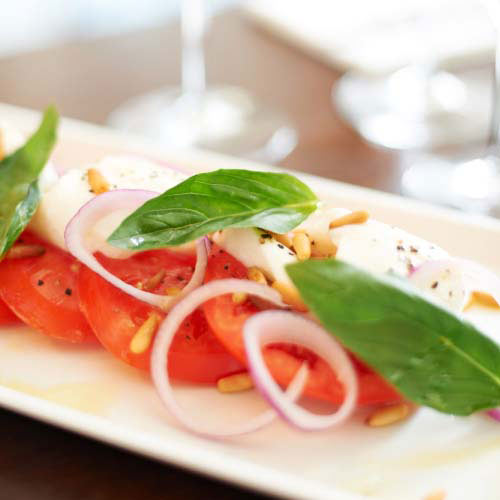 Nourriture answer: SALADE CAPRESE