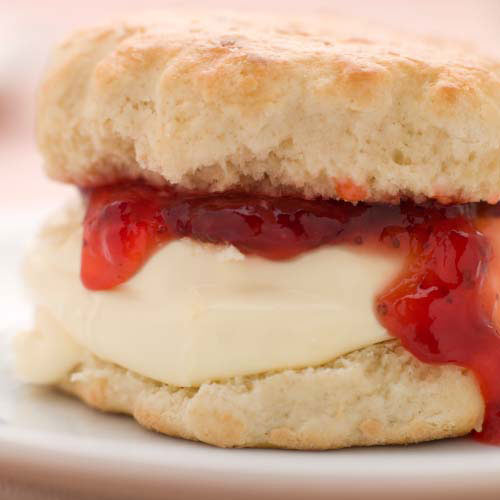 Nourriture answer: SCONE