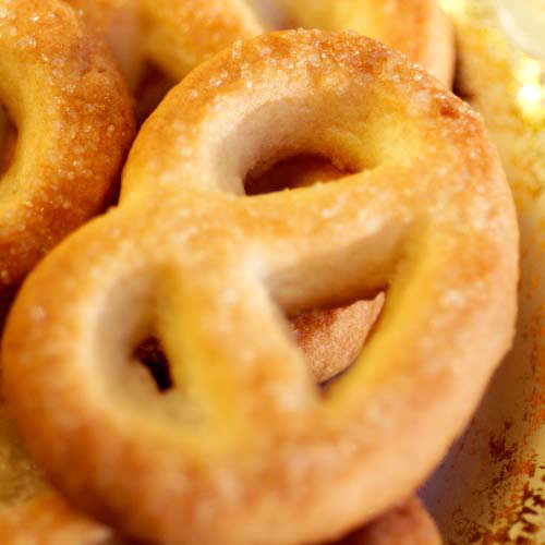 Nourriture answer: BRETZELS