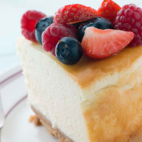 Nourriture answer: CHEESECAKE