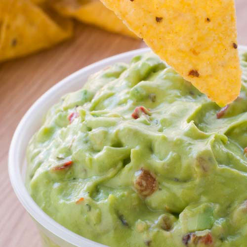 Nourriture answer: GUACAMOLE